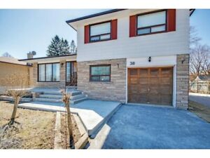 3 bed 1 bath basement apartment in a house $1500.00