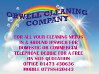 Orwell Cleaning Company. Domestic and commercial cleaning in and around Ipswich.