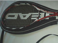 HEAD Microgel Prestige Pro Tennis Racket With Vs Team Mains, Grip L5