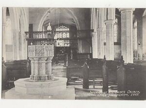 Interior-All-Saints-Church-Upper-Sheringham-Vintage-Postcard-284a
