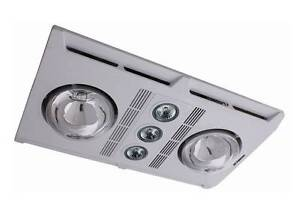 Martec Profile Plus 2 LED 3in1 Bathroom Heater Exhaust Fan Light Sydney City Inner Sydney Preview