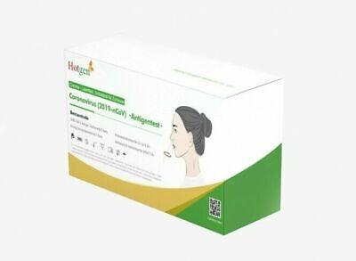 10x Hotgen Corona Antigen Selbsttest fürZuhause Laientest Nasal Test Schnelltest