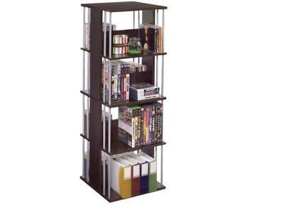 Spinning Storage Unit Atlantic Media Tower Multimedia Rack Case DVD Games CD