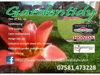 Garden maintenance and lawn care specialist