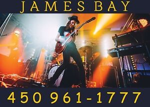 JAMES BAY : AU CEPSUM !!!