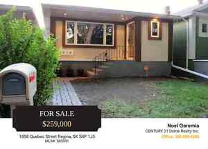 Nicely Updated Family Home In Regina's Heritage Area