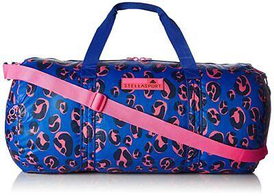 Adidas Stella McCartney STELLASPORT Leo Bag Gym overnight weekend Blue/Pink/Blac
