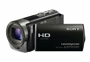 Sony CX-150 digital video camera accessories (incl wide angle lens)