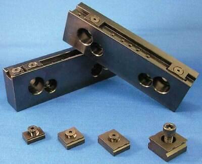 Mitee-bite 6 Long Talongrip Steel Vise Jaw Set For 46 Cnc Mill Vises