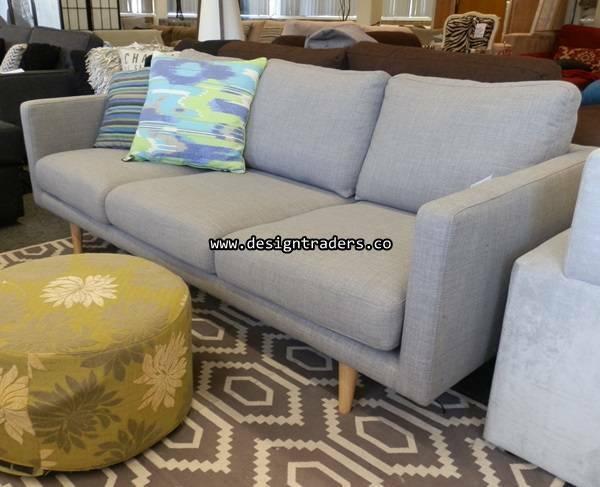Wow Freedom Studio Sleek 3 Seat Sofa In Grey Can