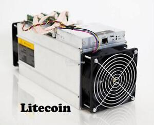 Antminer L3+ crypto currency miner for LTC, DGB, XVG and more