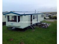 Static Caravan for Rent October ONLY OCTOBER ONLY please read !! Haven Perran Sands in Perranporth