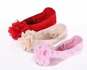 Girl-Kid-Cute-Flower-Canvas-Soft-Ballet-Dancing-Shoes-Slipper-AU-Size-6-5-1