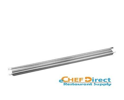 New 20 Grooved Stainless Steel Steam Table Adaptor Bar