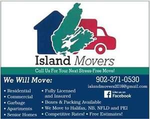 ISLAND MOVERS 902-371-0530