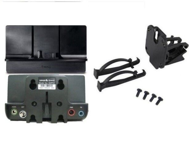 XM Onyx Plus RADIO POWERCONNECT Cradle (Dock) ,Swivel Dash Mount & SCREWS XDP1V1