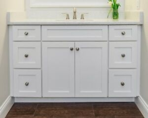 SALE***MAPLE SOLID WOOD BATHROOM VANITY WITH TOP