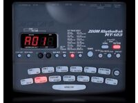 zoom rhythmtrak rt123 drum and bass machine