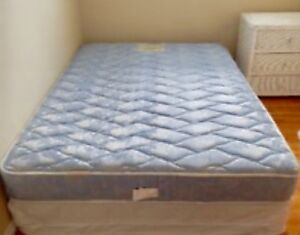 Good Double Mattress & Box Spring - FREE DELIVERY