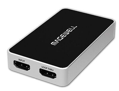 Magewell USB Capture HDMI Plus  HDMI to USB 3.0 Video Capture Dongle
