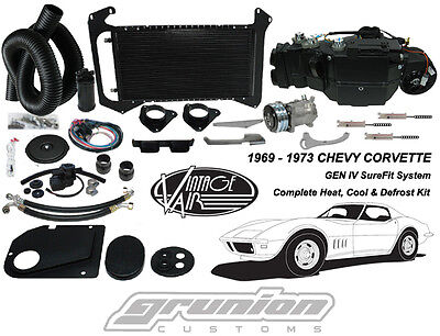 Vintage Air 1969 - 1973 Corvette w/AC Heat Air Conditioning Defrost Kit 964173