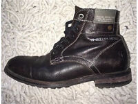 Men's G Star Raw military style leather ankle boots size 8.5