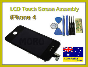 New iPhone 4 Replacement LCD Touch Screen Digitizer Glass Aassembly + 8 Tools