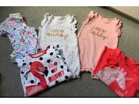 Baby girls rompers 3-6months