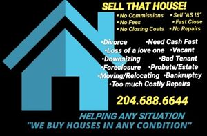 WE CAN HELP ANY SITUATION | BUYING WINNIPEG HOUSES
