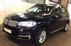 BMW X5 BLUE 3.0 35D XDRIVE M SPORT STATIONWAGON DIESEL FROM £135 PER WEEK!