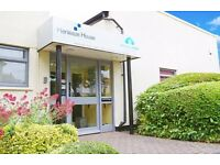 Two/three person serviced office in Henleaze offered WITH PARKING and available NOW.