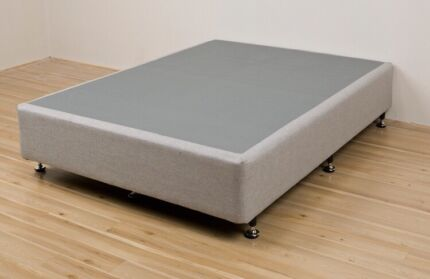 Upholstered Queen Mattress Base with 2 storage drawers