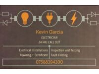 Electrician £60 call out