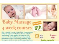 Baby massage in Hythe and Hawkinge