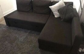 FREE DELIVERY IKEA FRIHETEN BROWN SOFA BED GREAT CONDITION