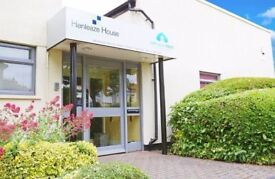 2-3 person serviced office space available in Henleaze with parking and available now!