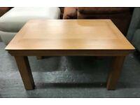 Real oak coffee tables