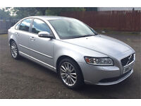 Volvo S40 1.8 SE, silver, low mileage, alloys, leather, tow bar