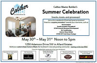 Food, Ice Cream and Many Incentives to Build a New Custom Home!