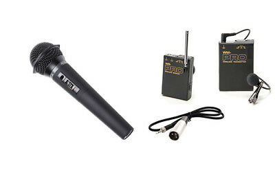 Pro PD170 WLM H XLR M wireless lavalier handheld mic for best Sony PD150 (Best Wireless Mics For Camcorders)