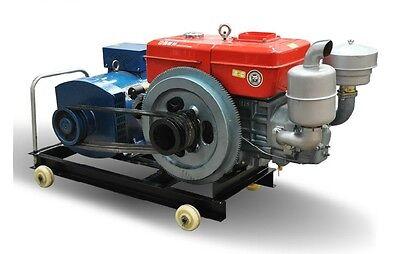 Sort New 15000W 15Kw Diesel Powered Generator Free Shipped by Sea