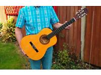 Guitar in excellent condition with case