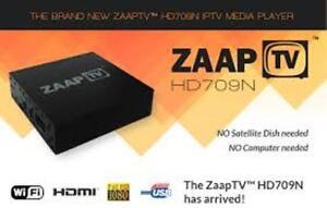 ZAAPTV HD709n $280 TAX IN