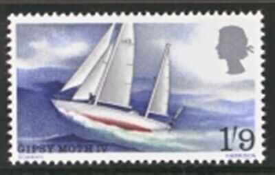 GB MNH Scott 0517-517, 1967 Sir Francis Chichester's one-man voyage, a single st