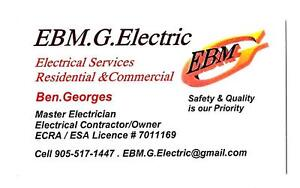 Electrician in hamilton.Call us and compair our fair low prices