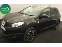 £229.47 PER MONTH BLACK 2013 NISSAN QASHQAI 1.5 N-TEC+ 5 DOOR DIESEL MANUAL