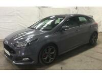 FORD FOCUS GREY 2.0 TDCI 185 ST-3 HATCHBACK DIESEL FROM £77 PER WEEK!