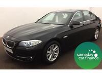 £199.87 PER MONTH - 5 SERIES - 2010 BMW 520D SE SALOON DIESEL MANUAL 4 DOOR