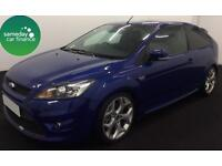£245.52 PER MONTH BLUE 2010 FORD FOCUS 2.5 ST-3 3 DOOR PETROL MANUAL