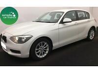£180.51 PER MONTH WHITE 2013 BMW 116D 2.0 SE 5 DOOR DIESEL MANUAL